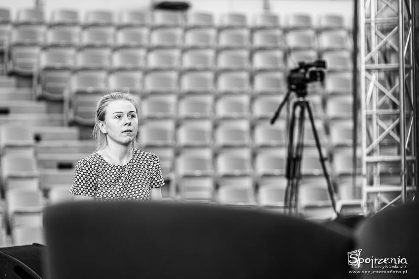 """Wieczór Chwały """"Będzie dobrze"""" - przygotowania - fotograf: Jurek Stankowski - Płock"""